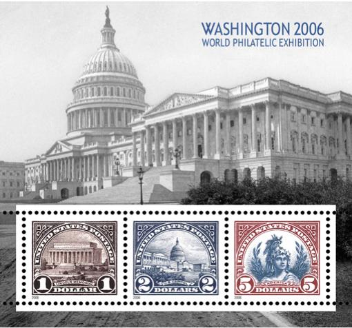 Souvenir Sheet planned for release in May, 2006